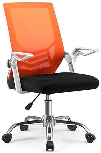 Bürostuhl Büromöbel Sessel Drehstuhl nach Stuhl ergonomischen Bürostuhl Büro zu Hause kleiner Sessellift,Orange