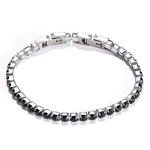 N/A Bracelet jewelry Adjustable Cubic Zirconia Classic Tennis Bracelet Crystal Wedding Bracelet For Women Valentine's Day present