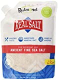 Redmond Real Salt Fine Salt Natural Unrefined Organic Gluten Free...