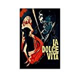 La Dolce Vita Filmposter Sweet Life berühmte klassische