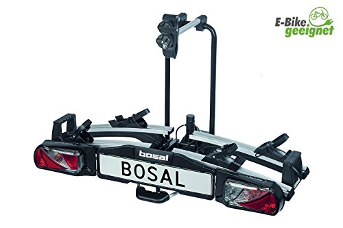 Bosal Fahrradtraeger Traveller II 070-532, fuer zwei Fahrraeder oder E-Bikes inkl. Tasche