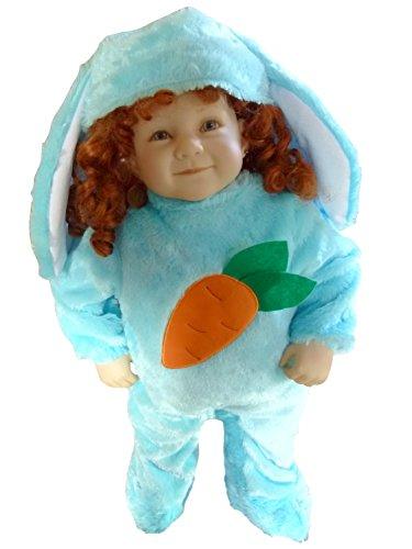 Hasen-Kostüm, F78/00 Gr. 68-74, für Babies und Klein-Kinder, Häschen-Kostüm, Hasen-Kostüme Hase Kinder-Kostüme Fasching Karneval, Kinder-Karnevalskostüme, Kinder-Faschingskostüme, Geburtstags-Geschenk