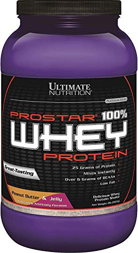 Ultimate Nutrition PROSTAR 100% Whey Protein Powder - 2 Pounds