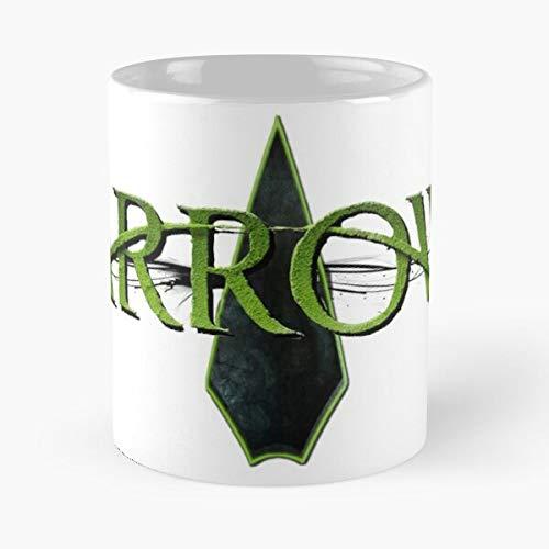 Dc Arrow Hero Green Comics Comic Book Mejor Taza de café de cerámica de 11 oz Personalizar