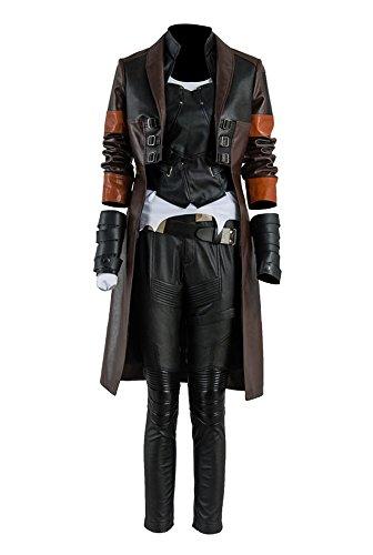 Beschützer der Galaxis 2 Gamora Uniform Cosplay Kostüm Damen S