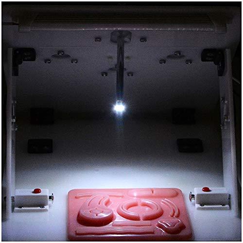LUCKFY Laparoscópica HD Recta de la cámara - cámara endoscopio - 1920 × 1080P Recta Varilla cámara simulada Abdominal Cirugía Kit de formación para Estudiantes de Medicina