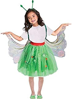 Girls Official Very Hungry Caterpillar Butterfly Mini Beast World Book Day Week Fancy Dress Costume 3-8yr