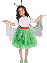 Everyone knows what happens to The Very Hungry Caterpillar after he's eaten and eaten and eaten! He transforms into this beautiful butterfly! Kids can transform into their very own butterfly with this splendid costume, featuring a netted tutu, pastel...