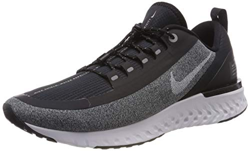 Nike Damen Odyssey React Shield Laufschuhe, Mehrfarbig (Black/White/Cool Grey/Vast Grey 003), 38 EU