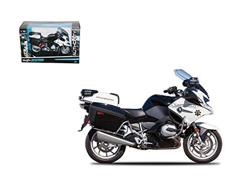 BMW R 1200 RT Polizei Deutschland Maisto Motorrad Modell 1:18