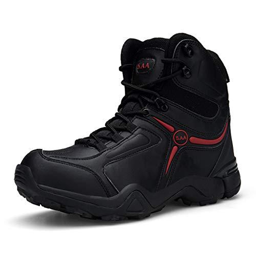 YU-M Militaire Leger Werk Enkel Laarzen Man Lace Up Wandelschoenen Bestrijding Woestijn Schoenen Beschermend Schoeisel 9/10