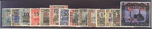 Goldhahn SAAR Nr. 70-83