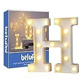 Up in hooglicht- decoratie LED alfabet witte Letters lichten feesttent licht tekens...