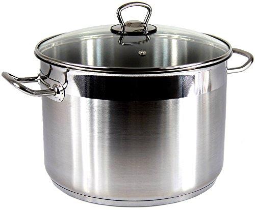 SSW roestvrijstalen kookpan Vitalo hoogwaardige pan inductie groot 10 liter XL