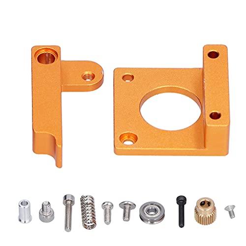 Bloco de liga de alumínio para impressora 3D, substituição do suporte da extrusora de bico único jato de areia para máquina de extrusão para MK8