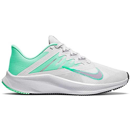 NIKE CD0232 111 Wmns Quest 3, Zapatillas de Running para Mujer, Blanco/Verde, EU 39