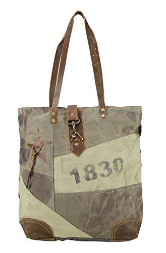 Sunsa Damen Handtasche Badetasche Strandtasche Schultertasche große Tasche Canvastasche...
