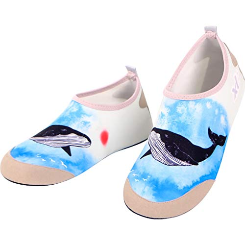 YQQMC Zapatos de Playa Calcetines de la Playa de los Hombres Secado Suave y Suave para Mujer Secado rápido rápido Respirable (Size : 42/43EU)