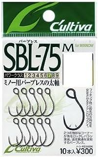オーナー(OWNER) SBL-75M シングル75バーブレス(ミノー用) フック2 11626 釣り針