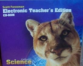 Electronic Teacher's Edition Grade 5 (California Science)
