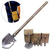 Fansport Camping Shovel Portable Outdoor Folding Shovel Kit