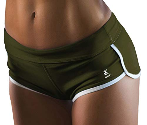 Kipro Women's Running Athletic Shorts for Gym Fitness Workout Clothes