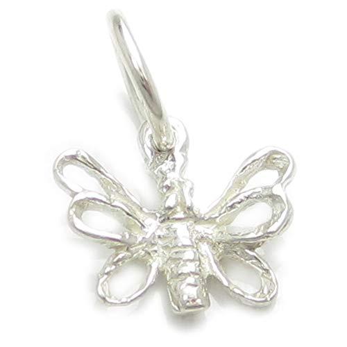 Schmetterling sterling-Silber 925 charms EC1597, Schmetterlinge, Insekten
