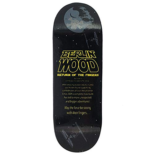 Berlin Wood Wood Wars Fingerboard Größe: Wide Low Shape