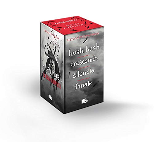 Tetralogía Hush Hush (edición estuche con: Hush Hush | Crescendo | Silencio | Finale) (FICCIÓN)