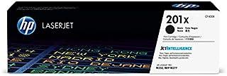 HP 201X (CF400X) Toner Cartridge, Black High Yield for HP Color Laserjet Pro M252dw M277 MFP M277c6 M277dw MFP 277dw