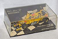 "1/43 PMA ミニチャンプス F1 Jordan Mugen Honda 198 D.Hill ""TOWER WING"" デイモン・ヒル minichamps 430980039 formula"