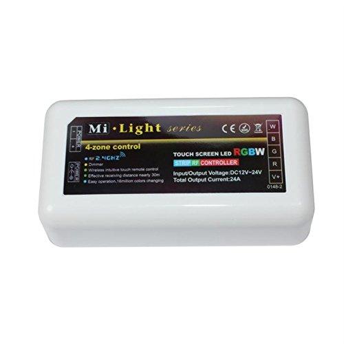 MiLight MiBoxer RGBW LED 4-Zone Récepteur 12.24V 240W pour bandes changeantes de couleur 5-Pin