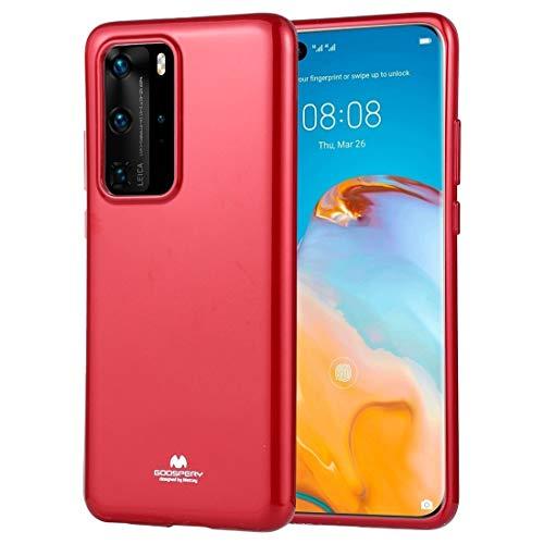 LWL House Caso Cobertura Completa de Jalea Funda Protectora Suave para Huawei P40 Pro (Color : Red)