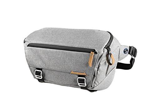 Peak Design Everyday Sling Sling case Grey - Camera Cases (Sling case, Universal, Shoulder strap, Notebook compartment, Grey)