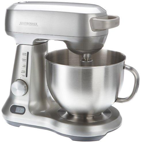 Gastroback 40979 PRO Design Küchenmaschine Advanced Digital, Edelstahl, 4.7 liters, Silber