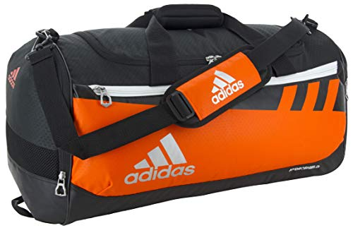adidas Unisex Team Issue Medium Duffel Bag, Orange, ONE SIZE