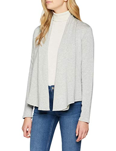 OPUS Damen Gabrilla Sweatshirt, Grau (Iron Grey Melange 8057), 38