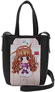 YUEJIN Bag For Girls,Black - Shoulder Bags