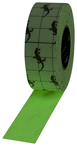 Gator Grip Traction Tape SG4202PH Glow-In-The-Dark Premium Grade High Traction Abrasive Non Slip 60 Grit Indoor Outdoor Photoluminescent / Luminous Anti-Slip Adhesive Grip Safety Tape, 2 Inch x 60 ft., Neon Green, Glow - In - The - Dark