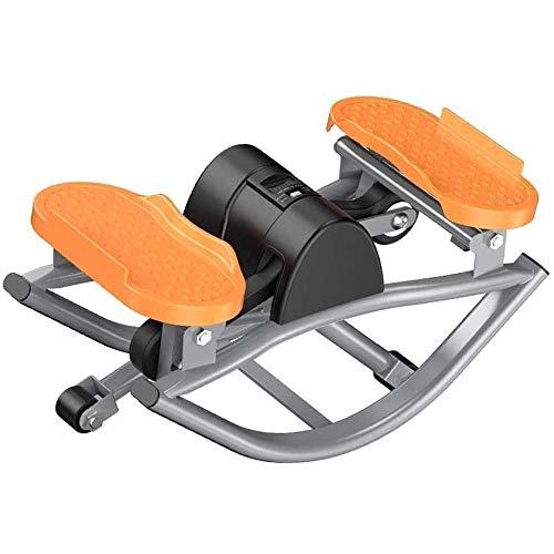 Ginnico A Pedale per Cyclette, Macchina per Oscillazione Laterale, Macchina Ellittica, Mini Cyclette, Esercizio di Fitness Aerobico A Casa E in Ufficio