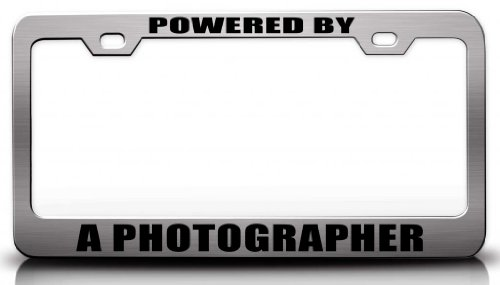 Powered by a Photographer Career Steel Metal License