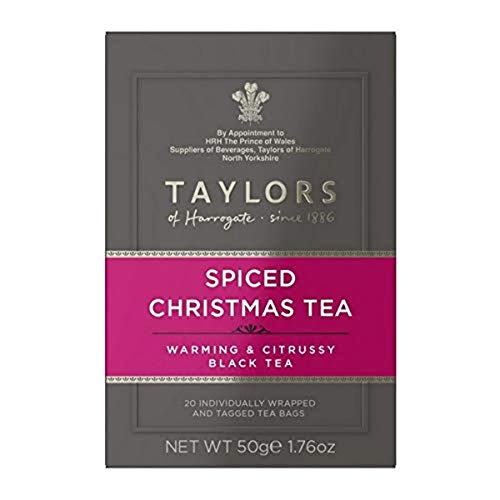 Taylors of Harrogate Spiced Christmas Tea, 20 Teabags