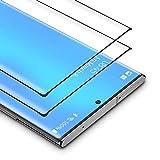 BANNIO Protector de Pantalla Samsung Galaxy Note 20 Ultra,[2 Unidades] 3D Cobertura Completa Cristal Templado para Samsung Galaxy Note 20 Ultra con Kit de Instalación,9H Dureza