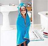 Mignon Animal - Toalla con capucha para bebé, de algodón extra suave para...