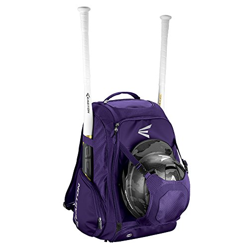 EASTON WALK-OFF IV Bat & Equipment Backpack Bag, Purple
