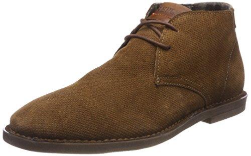 Replay Conner, Zapatos de Cordones Derby Hombre, Beige (Tan), 46 EU