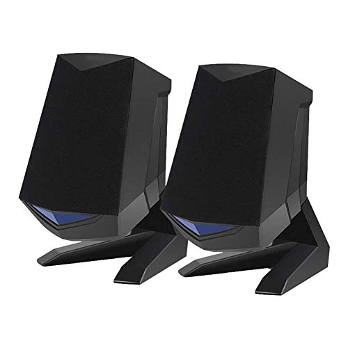 Fantastic Deal! Beauti-chen 3D Desktop Audio Speaker Intelligent Noise Reducing Portable USB Laptop ...