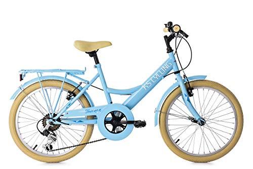 KS Cycling Kinderfahrrad 20\'\' Toscana blau 6Gänge RH36cm