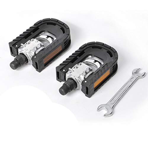 3C boutique digital Reemplaza los pedales de bicicleta de plataforma de aluminio / Pedales de bicicleta MTB/Mountain Bike Pedale/Pedales plegables con alta rigidez con diámetro del eje de 14 cm.