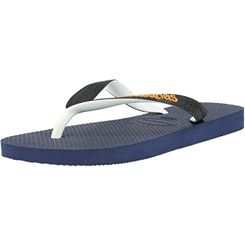 Havaianas Top Mix, Chanclas Unisex Adulto, Azul (Navy/Black 1554), 43/44 EU